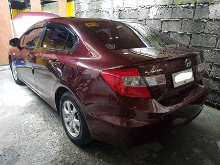 Selling Red 2015 Honda Civic 1.8 Automatic in Makati