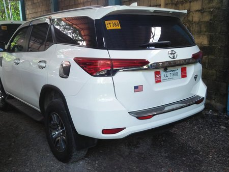 White 2018 Toyota Fortuner at 10000 km for sale