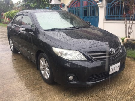 Sell Black 2011 Toyota Altis at 98000 km in Bangui
