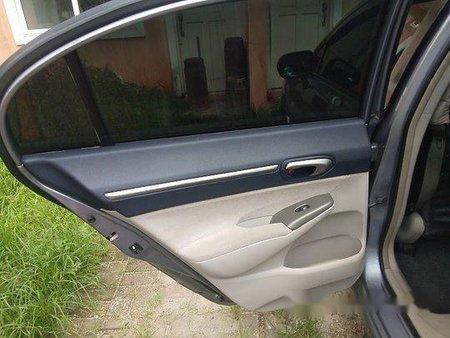 Selling Silver Honda Civic 2008 at 98000 km