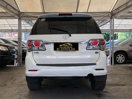 2012 Toyota Fortuner 4x2 G Diesel AT for sale in Makati