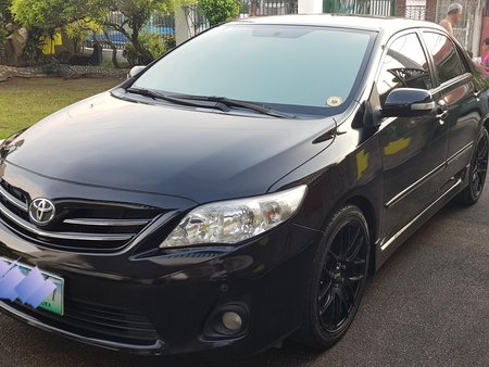 Black Toyota Altis 2012 for sale in Binan