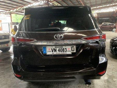 Selling Brown Toyota Fortuner 2017 Automatic Diesel
