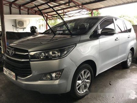 Silver Toyota Innova 2016 Manual Diesel for sale