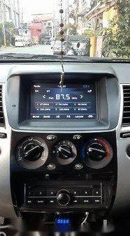 Silver Mitsubishi Montero Sport 2015 Manual Diesel for sale