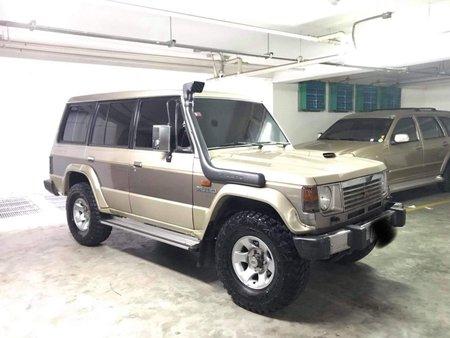 1990 Mitsubishi Pajera Gen 1 Flattop DIESEL for sale in Quezon City