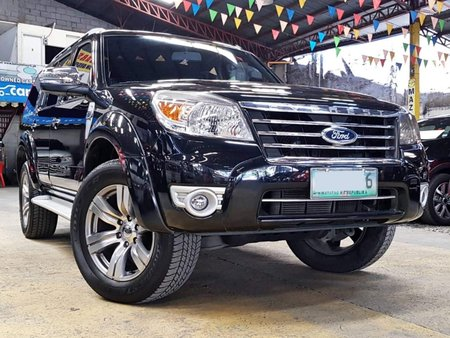 2009 Ford Everest 2.5 4X2 Diesel Automatic Limited Ice Edition for sale in Quezon City