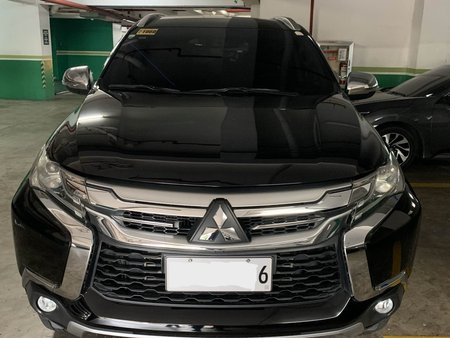 Black 2016 Mitsubishi Montero Sport Automatic at 22000 km for sale