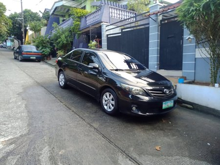 Black 2011 Toyota Corolla Altis for sale in Antipolo