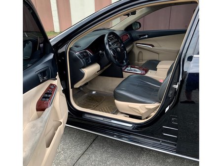 Black 2012 Toyota Camry for sale in Quezon City