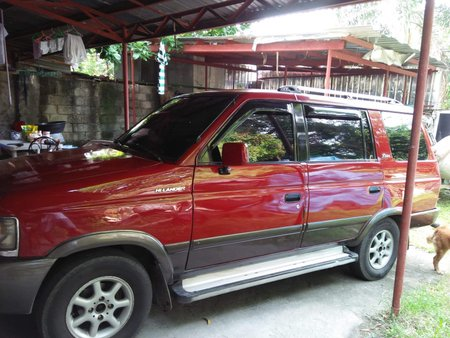 Red 1998 Isuzu Hi-lander Crosswind for sale in Quezon City