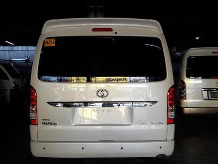 2018 Toyota Hiace Super Grandia 3.0 Automatic Diesel for sale in Makati