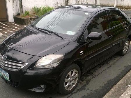 Black 2012 Toyota Vios 1.3E for sale in Paranaque
