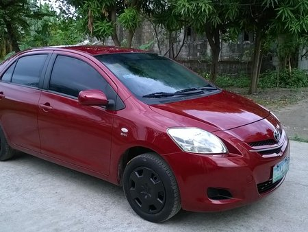 Selling Red 2008 Toyota Vios 1.3J in Paranaque
