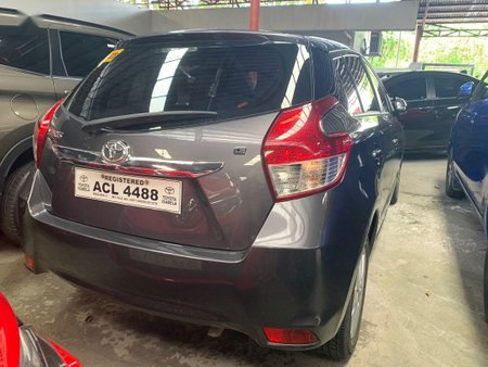 Grey Toyota Yaris 2016 for sale in Quezon City