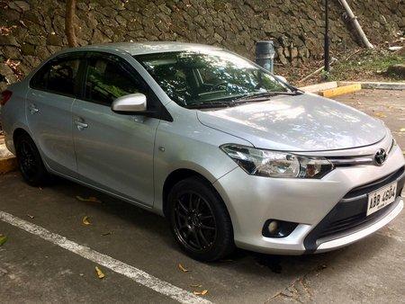 Silver Toyota Vios J 2014 for sale in Manila