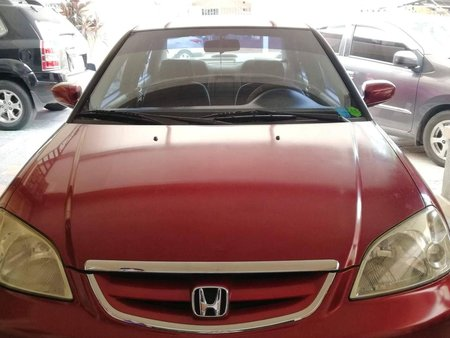 Selling Red Honda Civic 2003 in Angeles