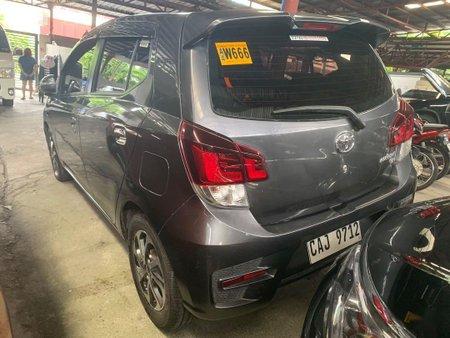 Selling Grey Toyota Wigo 2018 in Quezon City