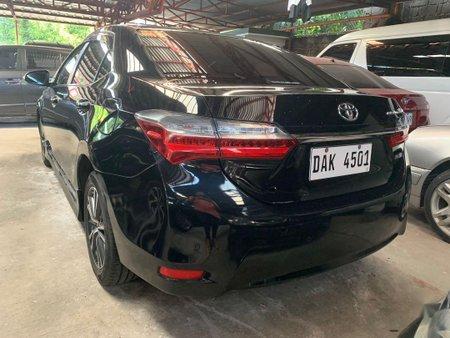 Black Toyota Corolla Altis 2018 for sale in Quezon City