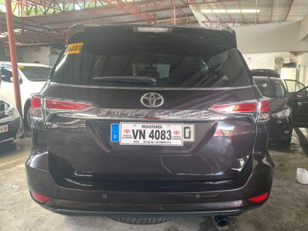 Sell Brown 2017 Toyota Fortuner in Quezon City