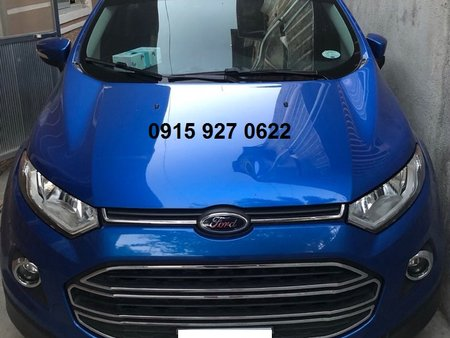 Automatic 2017 Ford Ecosport Rush Sale