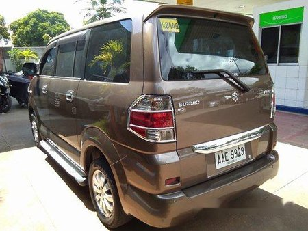 Brown Suzuki Apv 2014 at 53806 km for sale