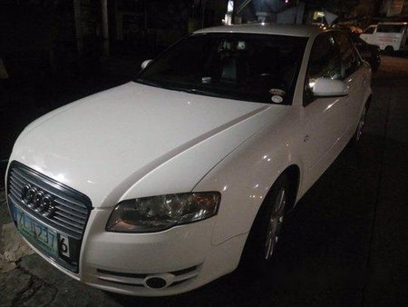 White Audi A4 2007 at 102000 km for sale