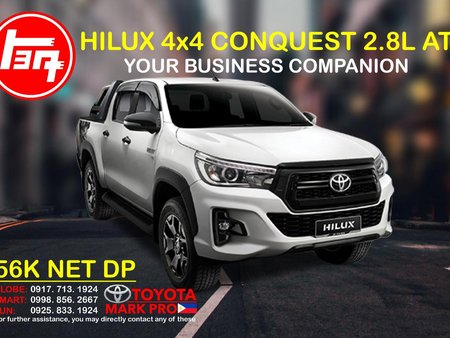 2020 TOYOTA HILUX CONQUEST 4X4 AT