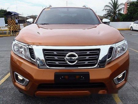 Selling Orange Nissan Navara 2018 in Quezon City