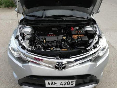 Selling Silver 2014 Toyota Vios in Talisay