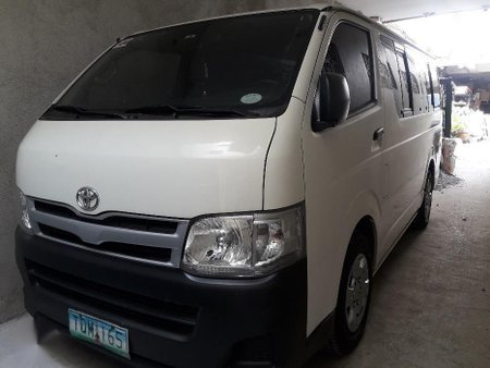 2012 Toyota Hiace for sale in Manila