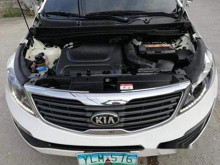 Selling White Kia Sportage 2013 Automatic Diesel