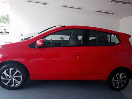 RED TOYOTA WIGO 2018
