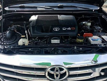 Black Toyota Fortuner 2014 Automatic Diesel for sale