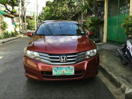 Red 2009 Honda City at 71000 km for sale
