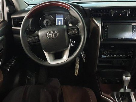 Silver Toyota Fortuner 2018 Automatic Diesel for sale
