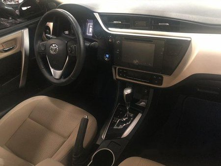 Black Toyota Corolla altis 2018 at 2200 km for sale