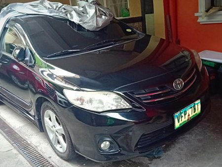 Black Toyota Corolla 2013 for sale in Quezon City