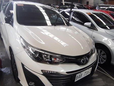 Selling Pearl White Toyota Vios 2019
