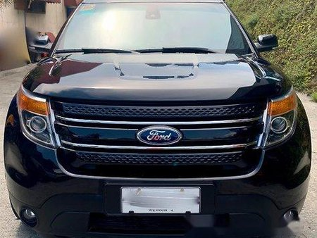 Sell Black 2014 Ford Explorer at 19000 km