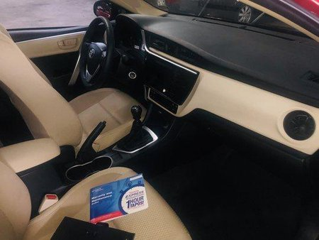 Red Toyota Corolla Altis 2018 for sale in Quezon City