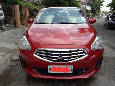 Sell Red 2018 Mitsubishi Mirage G4 Sedan at 12000 km