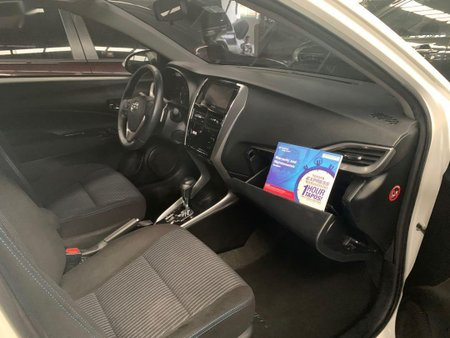Pearlwhite Toyota Vios 2018 for sale in Quezon City