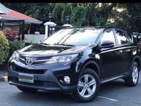 Black Toyota Rav4 2013 for sale in Quezon City
