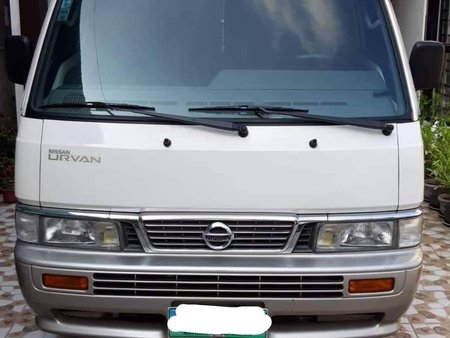 2014 White Nissan Urvan Escapade for sale