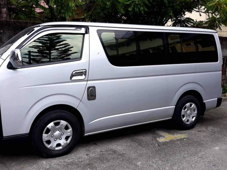 2015 Toyota Commuter Manual Diesel in Quezon City