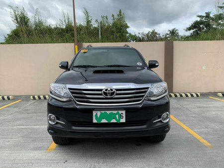 Toyota Fortuner G 2015 Dsl At Black Series at 19,500 Mileage only