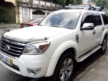Ford Everest 2010 DSL Manual 4X2 White for sale