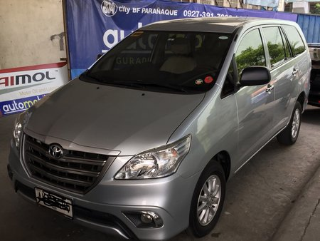 FOR SALE : 2015 Toyota Innova E Dsl Matic