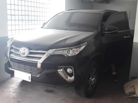 Black Toyota Fortuner 2019 New Look for sale in Manila